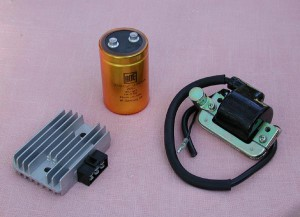 Regulator, Capacitor and Coil